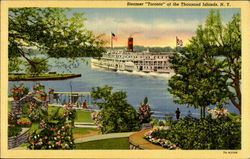 Steamer Toronto At The Thousand Islands Postcard