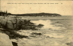 Ledges And Great Head , Acadia National Park