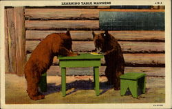 Learning Table Manners