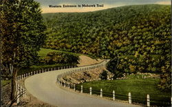 Western Entrance To Mohawk Trail