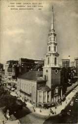 Park Street Church Postcard