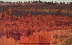 The Silent City, Bryce Canyon National Park Postcard