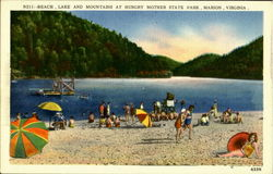 Hungry Mother Park, Hungry Mother State Park Postcard
