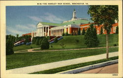 The Handley High School Postcard