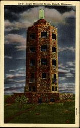 Enger Memorial Tower Postcard