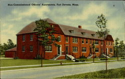 Non Commissioned Officers Apartments Postcard