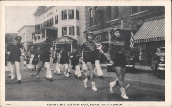 Lisbon's Hotel and Drum Corp New Hampshire