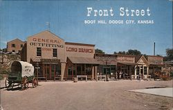 Front Street, Boot Hill