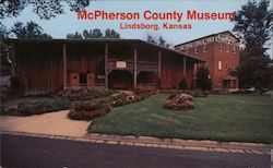 McPherson County Museum Postcard