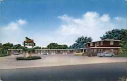 Golden Spur Motel Postcard