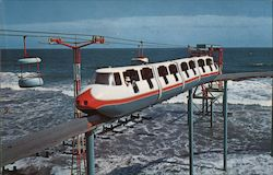Wildwood by the Sea Monorail Postcard