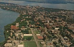 University of Wisconsin - Madison, Wisconsin Postcard