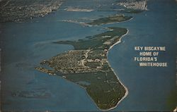 Key Biscayne Home of Florida's Whitehouse Postcard