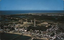 Airview of Provincetown Postcard