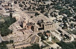 Aerial View of Kirksville Osteopathic Health Center Campus Postcard