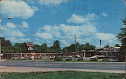 The Sands Motel Restaurant and Lounge Highway 61 North on I-55 Loop Postcard