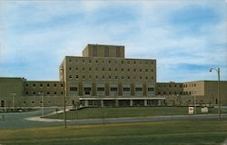 Veteran Administration Hospital Postcard
