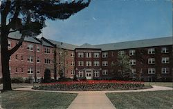 Nason and Blanton Dormitory State Teachers College Postcard