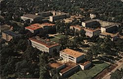 Aerial View Southwest Missouri State College Postcard