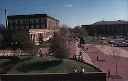 Looking Down on the Campus - Northeast Missouri State University Postcard