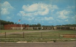 View of Community College Postcard
