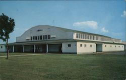 Arena Chanute Air Force Base Postcard