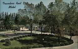Travelers Rest Motel 572 Lake St. Postcard
