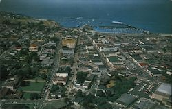 Aerial view of Monterey, California Postcard
