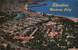 Shoreline Historic Monterey, California Postcard