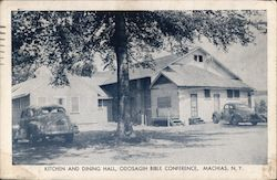 Kitchen and Dining Hall, Odosagih Bible Conference Postcard