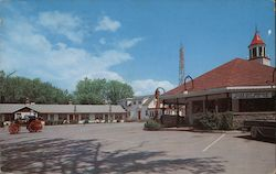 Carling Town & Country Motel & Restaurant Postcard