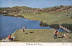 Mid-Ocean Golf Course in Bermuda