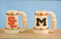 Torch Steins of South Carolina and Michigan