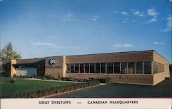 Geigy Dyestuffs Canadian Headquarters Postcard