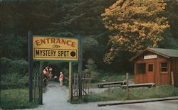 Entrance to The Mystery Spot in Santa Cruz