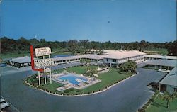 The Manger Towne & Country Motor Lodge Postcard