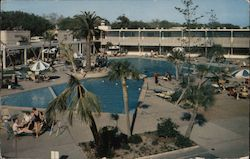 The Buena Vista Beach Motel and Hotel On the Gulf Postcard