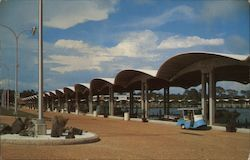 The Broadwater Beach Hotel Marina Postcard