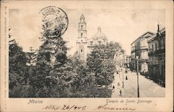 Church of Santo Domingo Postcard