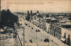 The Streets of Mariscala, Portillo de San Diego, and San Hipolito Postcard