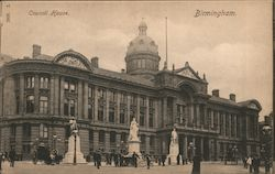View of Council House Postcard