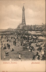 Children's Paradise, Pleasure Beach Postcard