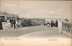 Roker from the South, Sunderland Postcard