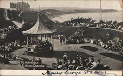 View of Clarence Gardens Postcard