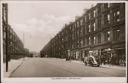 Tollcross Road looking east Postcard