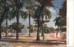 Havana, The Prado and Indian Statue