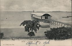 View of beach and Pier