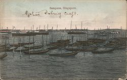 Sampans in Bay