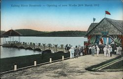 Kalang River Reservoir - Opening of new Works 26th March 1912
