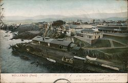 View of Port of Mollendo Postcard